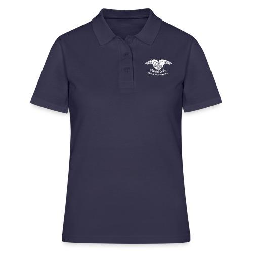 Vanajan Sudet Logo (valkoinen) - Women's Polo Shirt