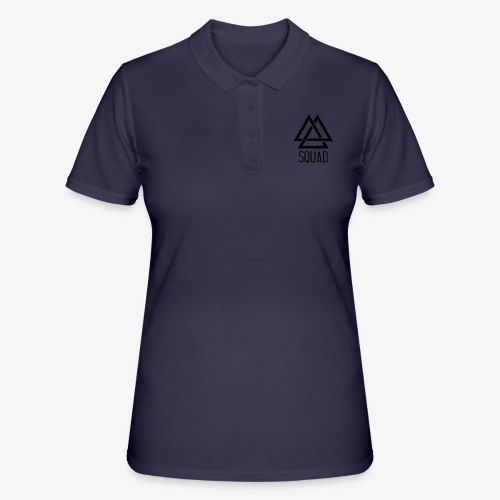 zwart - Women's Polo Shirt