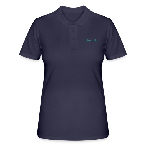 coffeeaddictletter - Women's Polo Shirt