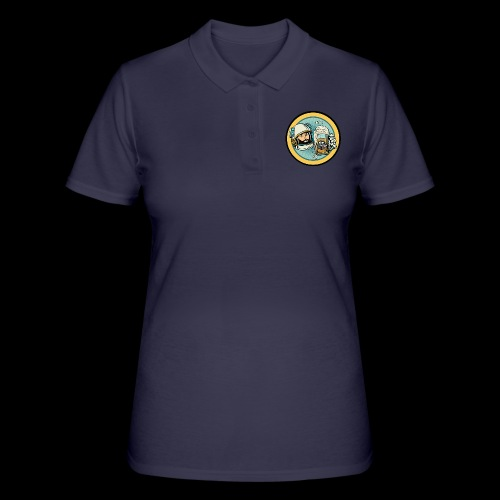 Astronaut With Beer - Women's Polo Shirt