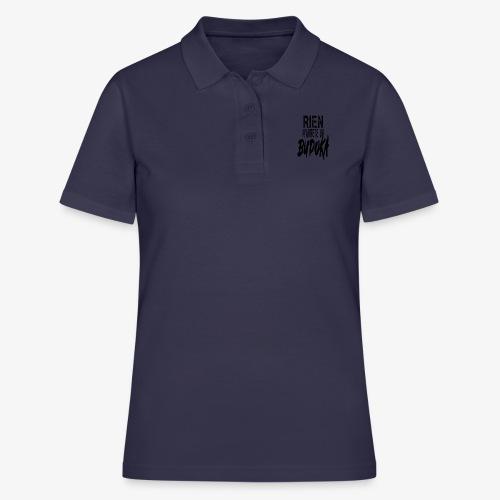 RIEN N' ARRÊTE UN BUDOKA - Women's Polo Shirt