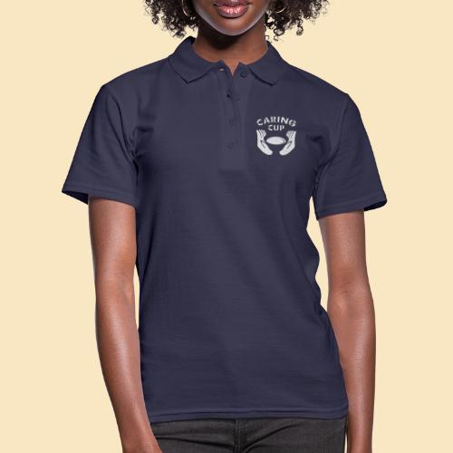 Caring Cup hellgrau - Frauen Polo Shirt