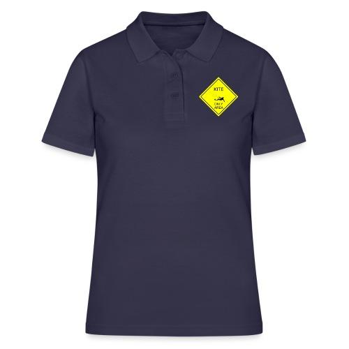 Kitesurfing only area - Women's Polo Shirt