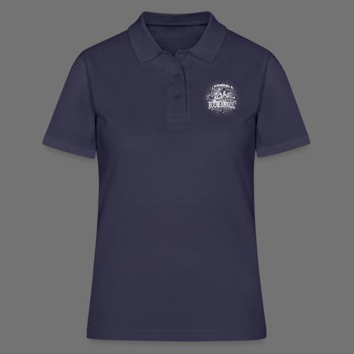 Rock 'n' Roll - Sounds Like Heaven (biały) - Women's Polo Shirt