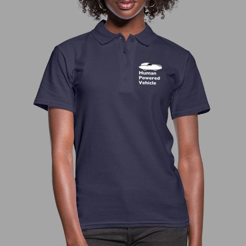 Quattrovelo Human Powered Vehicle white - Women's Polo Shirt