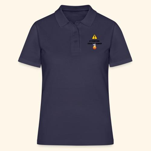 Attention très grognon - Women's Polo Shirt