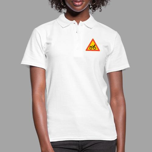 Traffic sign Recumbent - Women's Polo Shirt