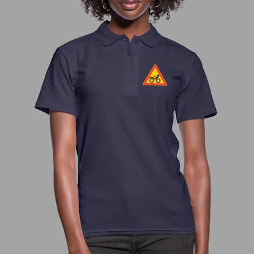 Traffic sign Recumbent - Women's Polo Shirt