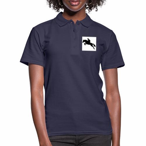 jump horse junp - Women's Polo Shirt