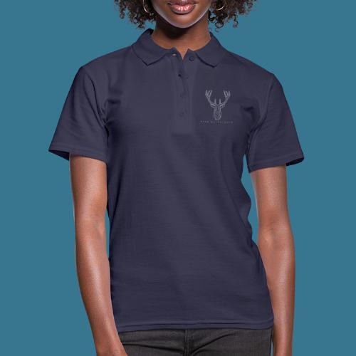 Hirsch. From Westerwald. - Frauen Polo Shirt