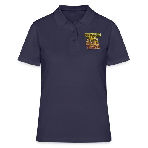 Stephen Hawking - Intelligence - Women's Polo Shirt