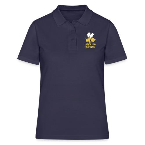 Bee kind to nature Bienen retten - Frauen Polo Shirt