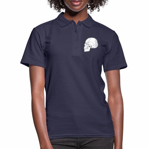 Schädel - Frauen Polo Shirt