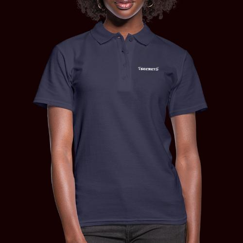 TsecretS white - Frauen Polo Shirt
