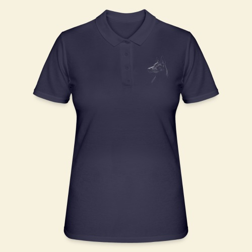 schwarzer Schäferhund / Malinois - Frauen Polo Shirt