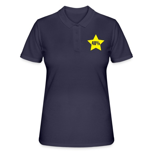 48% in Star - Women's Polo Shirt