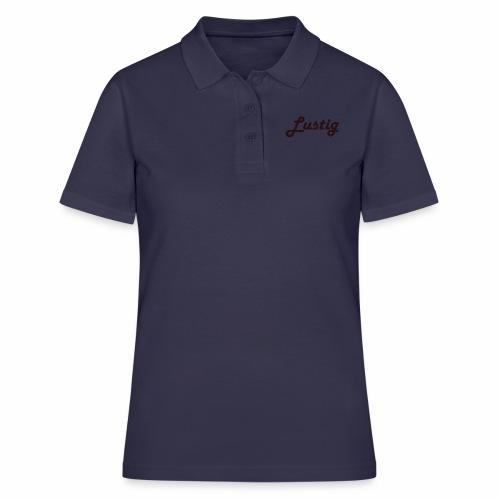 Lustig - Frauen Polo Shirt