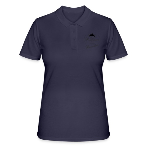 Real Princesses black December - Frauen Polo Shirt
