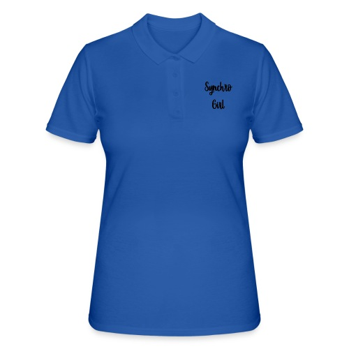Synchro Girl - Women's Polo Shirt