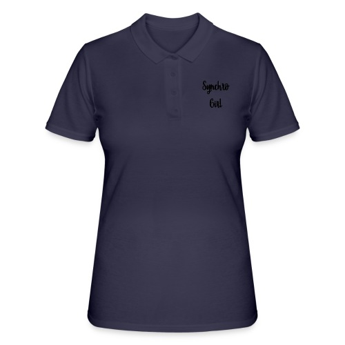 Synchro Girl - Women's Polo Shirt