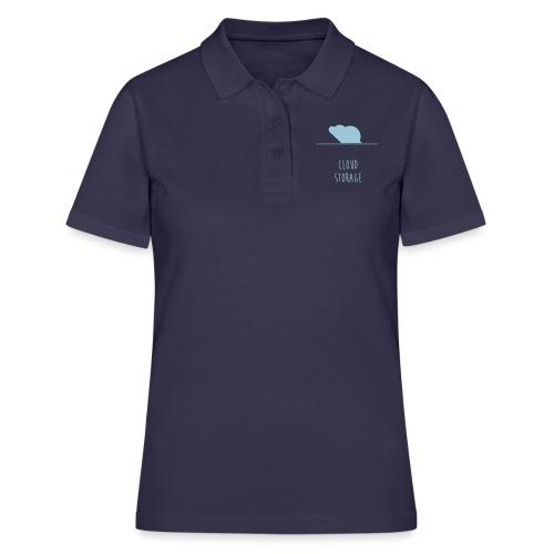 Cloud Storage - Frauen Polo Shirt
