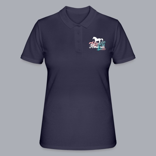 H&L Denim Horse-Ride - Women's Polo Shirt