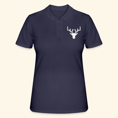 PIXELHIRSCH - only - Frauen Polo Shirt