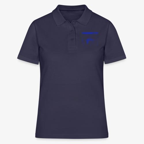 Hyena Blue - Women's Polo Shirt