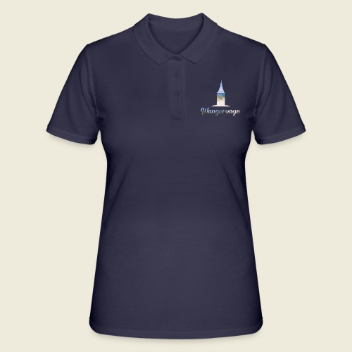 Wangerooge Urlaub Nordsee Meer - Frauen Polo Shirt