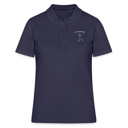 Dont touch my balls t-shirt 2 - Women's Polo Shirt
