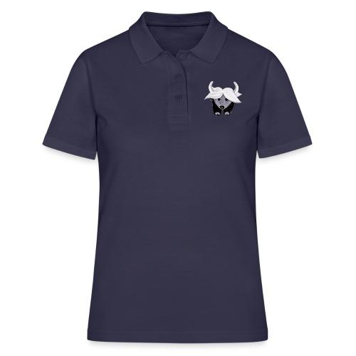 jaime_tibet_yak pillow - Frauen Polo Shirt