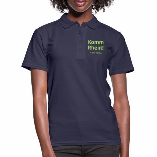 Komm Rhein! St. Goar · Loreley - Frauen Polo Shirt