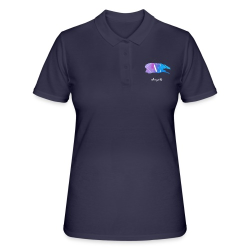 xAmyx14 logo - Women's Polo Shirt