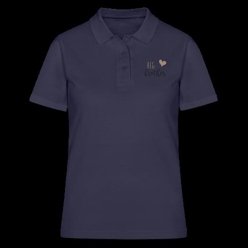 big brother Familyshirt - Frauen Polo Shirt