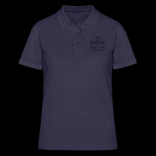I was at Hotel de Tabaksplant BLACK - Women's Polo Shirt
