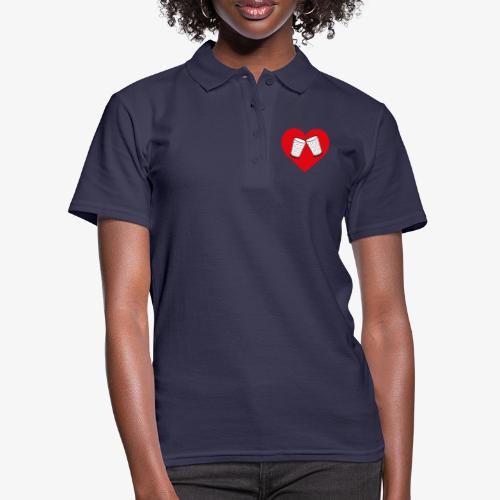 Schorle Liebe – Dubbegläser - Frauen Polo Shirt