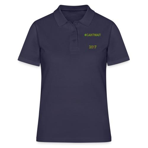 Cant wait Twin P - Women's Polo Shirt