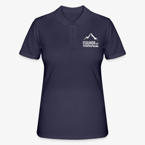 Esquiada Pompeufarra 2017 white - Women's Polo Shirt