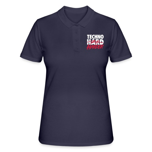 Techno harder - Women's Polo Shirt