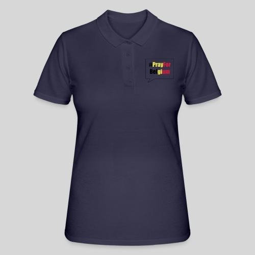 #PrayForBelgium - Women's Polo Shirt