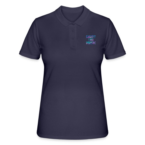 ENJOYTHEMUSIC PALMTREE - Women's Polo Shirt