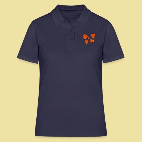 Herbstblätter - Frauen Polo Shirt