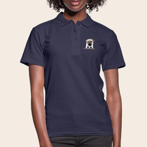 Mops am Ball 2 - Frauen Polo Shirt