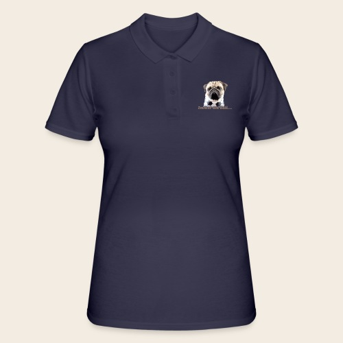 Mops am Ball 2 - Frauen Polo Shirt