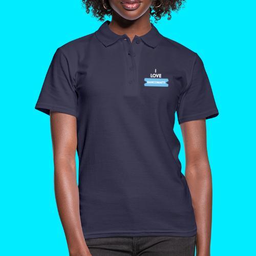 I LOVE BANCOMATTI Ver BIANCA - Women's Polo Shirt