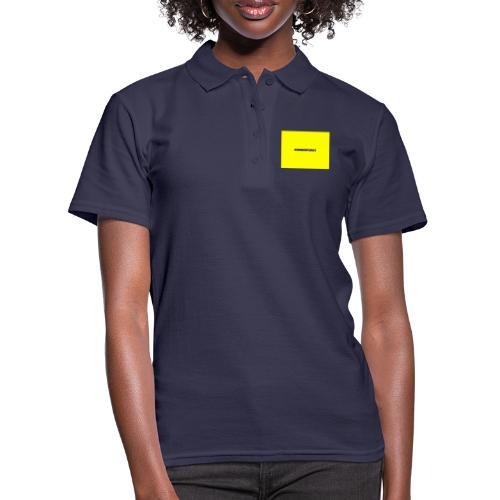 Sonnenpunkt schriftart - Frauen Polo Shirt