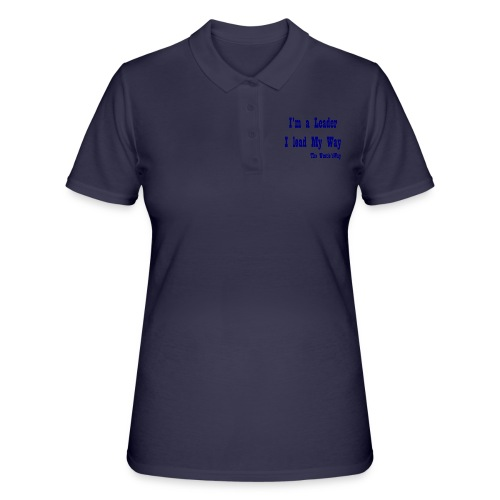 I lead My Way Blue - Women's Polo Shirt