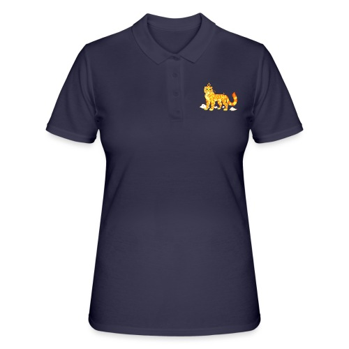 The Fire Tiger - Women's Polo Shirt