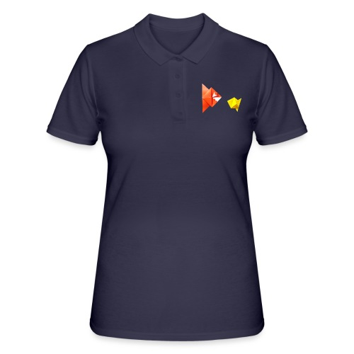 Origami Piranha and Fish - Fish - Pesce - Peixe - Women's Polo Shirt