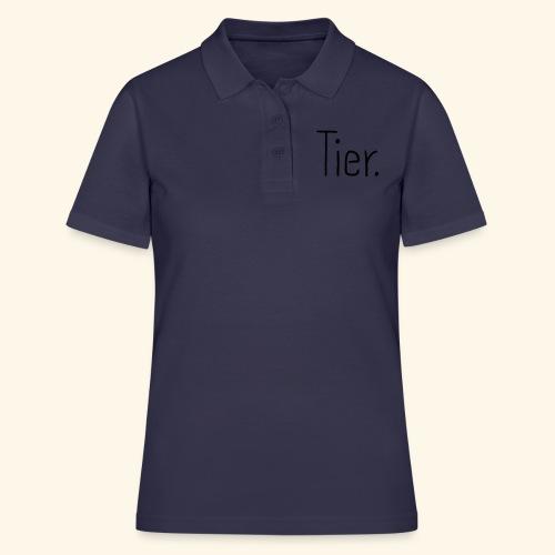Tier Animal Tierliebe Tierschutz - Frauen Polo Shirt